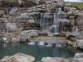 8' water falls
