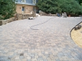 laying pavers