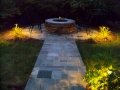 patio + path lighting