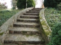 existing stone stairs