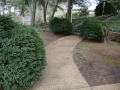 existing concrete path