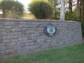 Versa - Lok segmental retaining wall at farm entrance