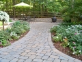 paver path and patio