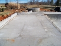 pool patio and brick wall installation