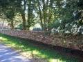 drystack fieldstone freestanding wall