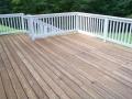 cedar deck and railings