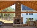 15' x 28' pavilion with engineered beams